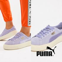 PUMA SUEDE Casual Style Street Style Leather Low-Top Sneakers