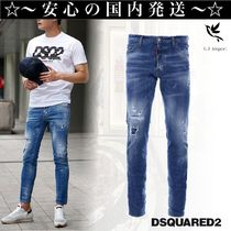 D SQUARED2 Denim Street Style Skinny Fit Jeans & Denim