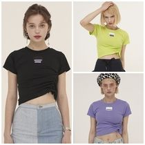 ODD ONE OUT Street Style Cotton Short Sleeves T-Shirts