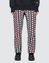 CHAMPION Printed Pants Street Style Cotton Patterned Pants