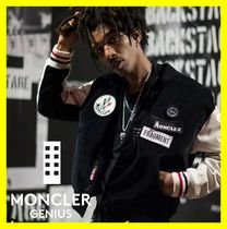 MONCLER Short Unisex Street Style Collaboration Varsity Jackets