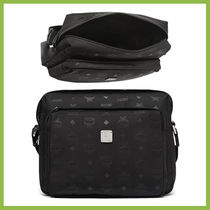 MCM Unisex Nylon Messenger & Shoulder Bags