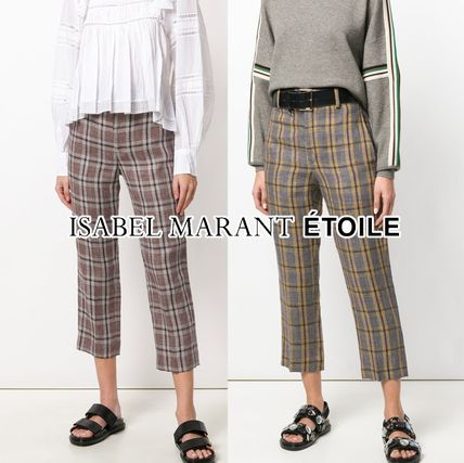 Other Check Patterns Casual Style Medium