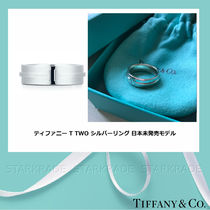 Tiffany & Co Tiffany T Casual Style Unisex Silver Rings