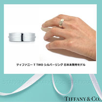 Tiffany & Co Tiffany T Casual Style Unisex Silver Pinkie Ring Rings