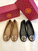 Tory Burch Casual Style Leather Ballet Shoes