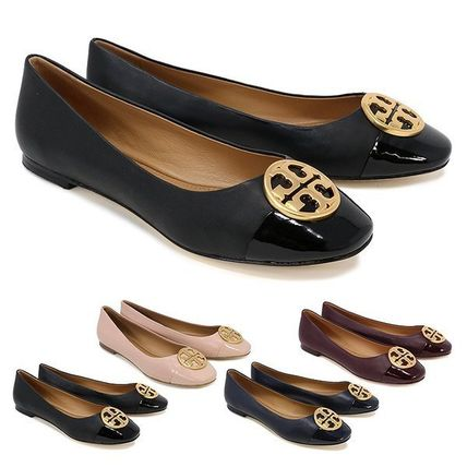 Tory Burch Leather Ballet Shoes