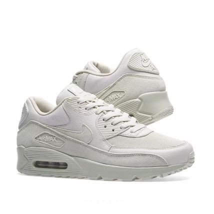 Nike AIR MAX 90 2017 18AW Suede Plain Sneakers (700155 013)