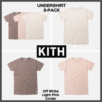 39264b99a9c8 ... KITH NYC More T-Shirts Unisex Street Style Plain Cotton Short Sleeves T- Shirts ...