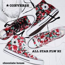 CONVERSE ALL STAR Flower Patterns Unisex Sneakers