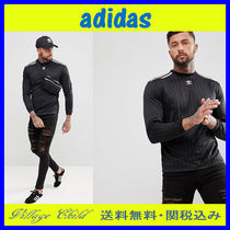 adidas Pullovers Street Style Long Sleeves Plain Tanks