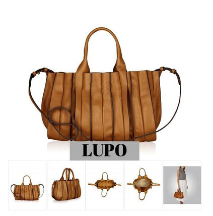 Lupo Barcelona Handbags Leather Elegant Style