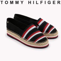 Tommy Hilfiger Wedge Casual Style Unisex Street Style Bi-color