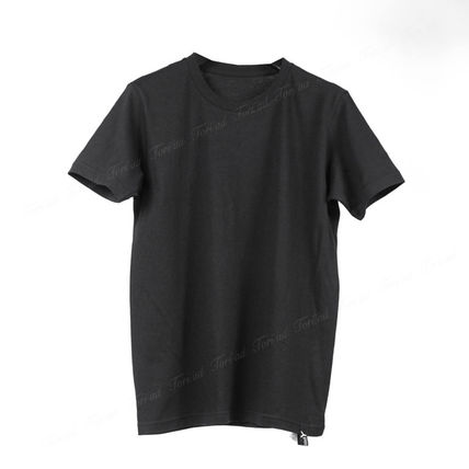 Yohji Yamamoto Crew Neck Crew Neck Unisex Cotton Short Sleeves Crew Neck T-Shirts 4