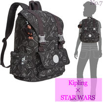 Kipling Unisex Street Style Collaboration A4 Backpacks