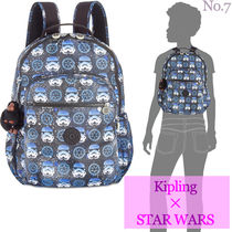 Kipling Street Style Collaboration Fringes Backpacks