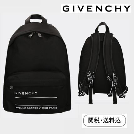 20f7f5dde8 ... GIVENCHY Backpacks Casual Style Nylon Street Style A4 Backpacks ...