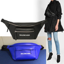 BALENCIAGA EVERYDAY TOTE Unisex Calfskin Plain Shoulder Bags