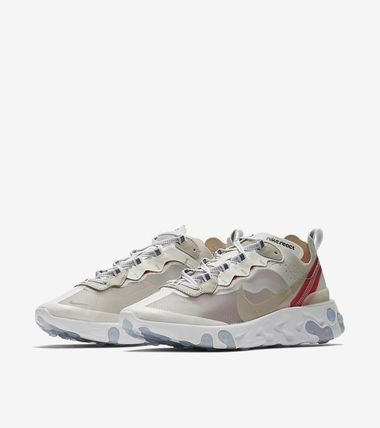 official photos 0b7fe 85c97 Nike REACT ELEMENT 87 2018 SS Street Style Sneakers
