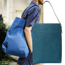 HERMES Canvas A4 2WAY Totes