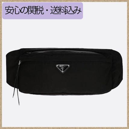 Nylon Plain Shoulder Bags