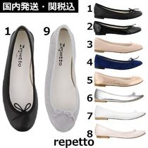 repetto Plain Toe Casual Style Street Style Plain Leather