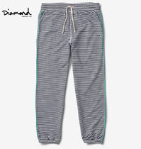 Diamond Supply Co Printed Pants Stripes Street Style Patterned Pants