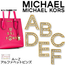 Michael Kors Casual Style Studded Plain With Jewels Bags