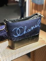 CHANEL Blended Fabrics 2WAY Handbags