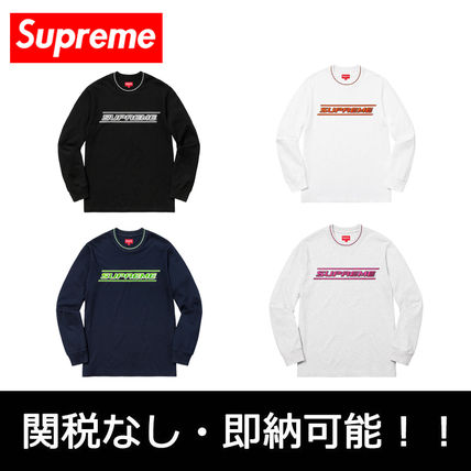 Pullovers Street Style Long Sleeves Long Sleeve T-Shirts