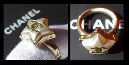 CHANEL ICON Star Casual Style Rings