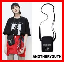 ANOTHERYOUTH Unisex Street Style Messenger & Shoulder Bags