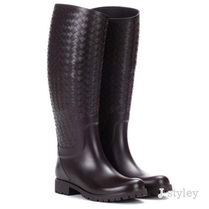 Round Toe Rain Boots Boots