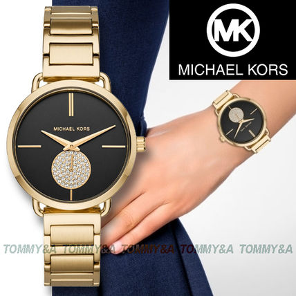 61f8a7d1f3d5 ... Michael Kors Analog Round Quartz Watches Stainless Analog Watches ...