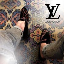 Louis Vuitton Loafers Velvet Loafers & Slip-ons