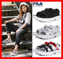 FILA Casual Style Unisex Street Style Sandals