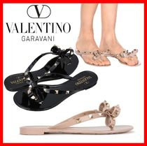 VALENTINO Casual Style Street Style PVC Clothing Sandals
