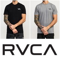 RVCA Street Style Plain Short Sleeves T-Shirts