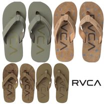 RVCA Street Style Leather Sandals
