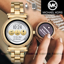 Michael Kors Round Stainless Elegant Style Digital Watches