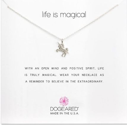 Dogeared Animal Chain Silver Elegant Style Necklaces & Pendants