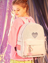 Entre Reves Casual Style A4 Plain PVC Clothing Backpacks