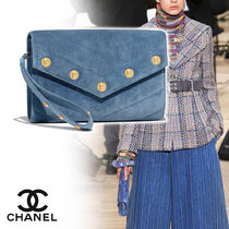 CHANEL Calfskin Vanity Bags Plain Home Party Ideas Elegant Style