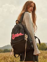 Entre Reves Casual Style Street Style A4 Plain Backpacks