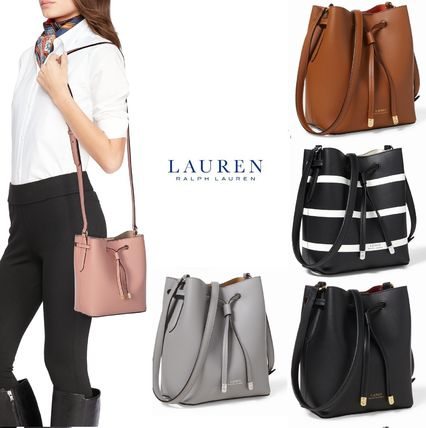 ... Ralph Lauren Shoulder Bags Stripes Plain Elegant Style Shoulder Bags ... df551df85250c