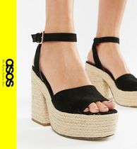 ASOS Casual Style Block Heels Heeled Sandals