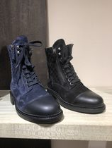 CHANEL Lace-up Boots Boots