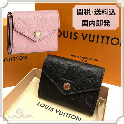 ... Louis Vuitton Folding Wallets 18AW PORTEFEUILLE ZOE MONOGRAM COMPACT  WALLET EMPREINTE ... 90ae3191d20