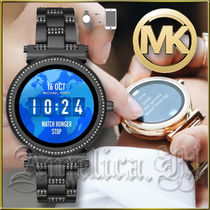 Michael Kors Round Stainless Office Style Digital Watches