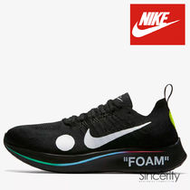 Nike AIR ZOOM Street Style Collaboration Plain Sneakers